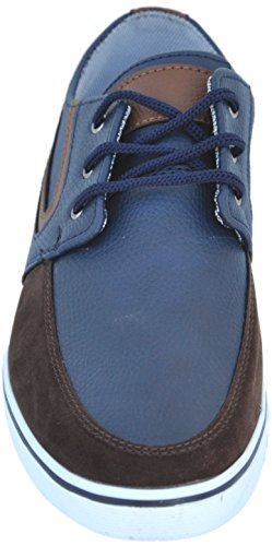 Tamboga derbies fashion marine marron 510-db-suede