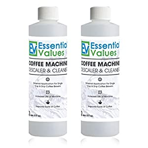 Keurig Descaler & BONUS PACK Replacement Keurig Filters (Brewer Care Kit), Universal Descaling Solution, Decalcifier & Coffee Maker Cleaner by Essential Values … by Essential Values