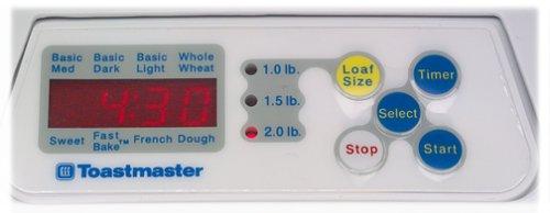 Amazon.com: toastmaster 1148 X Rápido Hornear El Pan 2-Pound ...