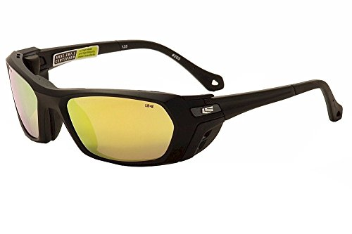 Liberty Sport Piston MBLK6021125SDL 205 Matte Black Sport Wrap Sunglasses 60mm