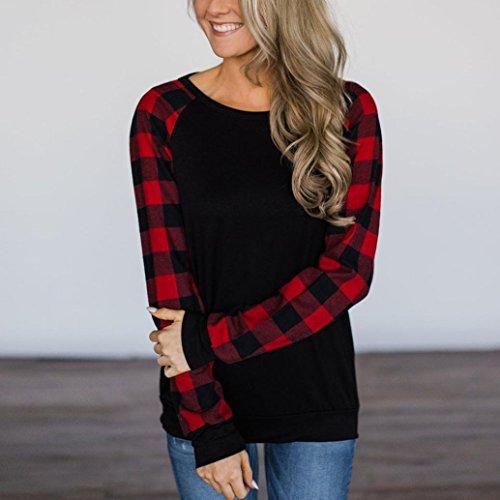 2544a4f86d142 85%OFF Mr.Macy Women O-Neck Long Sleeve Sweatshirt Pullover Tops Blouse