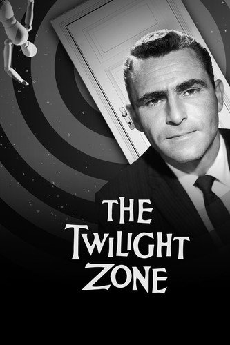 Rod Serling in The Twilight Zone classic Logo door TV series 24x36 Poster from Silverscreen