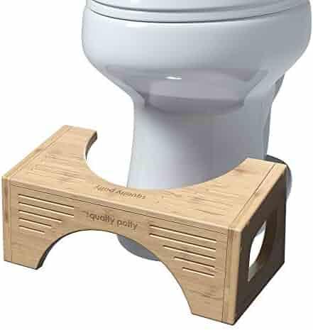 Squatty Potty SP-Bamboo-FLIP The Original Toilet Stool - Bamboo Flip, 7