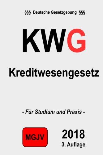 KWG Kreditwesengesetz: Kreditwesengesetz 3.