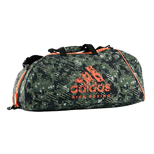 ADIDAS Bolsa KICK BOXING Camuflado (Camo/Laranja) M