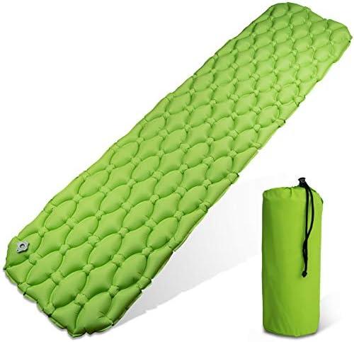 Esterilla verde 200 x 50 x 1 cm revest camping exterior colchón de sueño