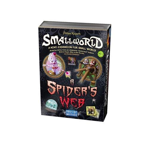 Days of Wonder Small World: A Spider's Web Expansion