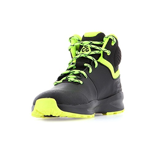 Nike - Terrain Boot PS - 599304003 - Color: Amarillo-Negro-Verde claro - Size: 34.0