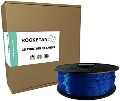 Amazon.com: rocketan Azul Fluorescente, ABS Filamento ...