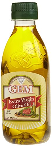 Gem Extra Virgin Olive Oil, 8.5-ounce Pet Bottles (Pack of (Pet Gem)