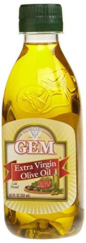 Gem Extra Virgin Olive Oil, 8.5-ounce Pet Bottles (Pack of (Pet Gem)