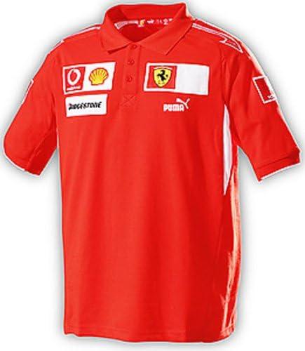 TSS & P Puma – Ferrari Team Polo Talla:Small: Amazon.es: Ropa y ...