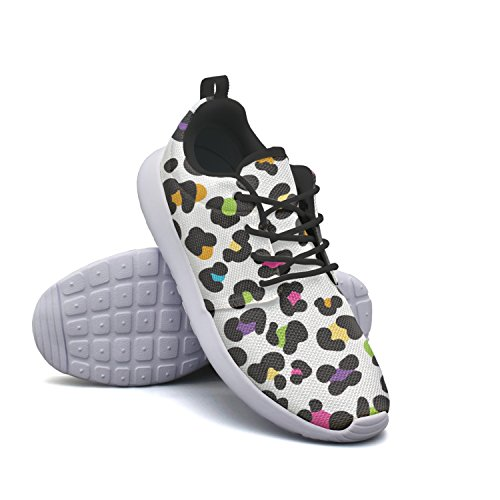 Cheetah Colorful Leopard Cheetah Boat Women's tayedass Breathabl Sneakers Colorful Leopard Fashion Shoes Basketball Lightweight AwWf7Fq