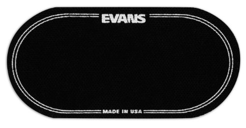 Evans EQ Double Pedal Patch, Black Nylon