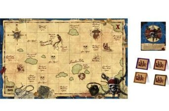 Hallmark Pirates of the Caribbean 'On Stranger Tides' Party Game Poster (1ct) ()