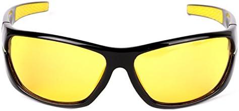 1bf7bf89ea ... MOTELAN Yellow Lens Night Vision Polarized Driving Goggles - Professional  Sports Fishing Hunting Glasses Reduce Glare ...
