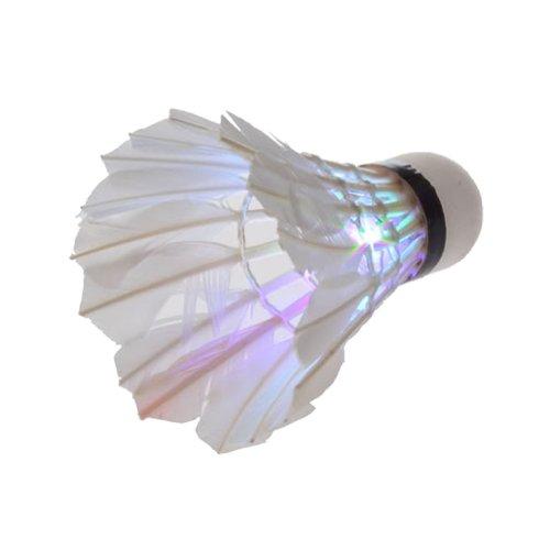 Dark Night LED Badminton Shuttlecock Birdies Lighting(pack of 3) (multi colours)