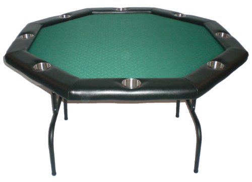 Texas Holdem Poker Table w/Stainless Cup Holders Suited Speed Clot (Large Image)