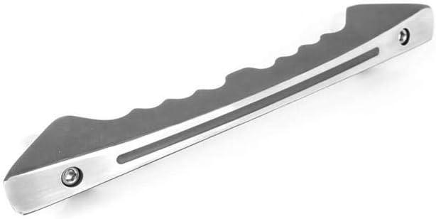 Gray All Sales 3517AM Anthracite Metallic Ami Billet Grab Handle Glove Box