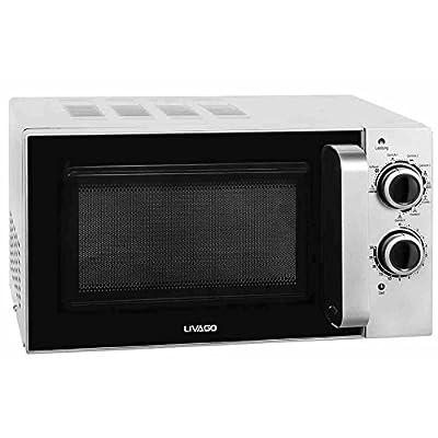 livago 0910105micro-ondes/20L/700W/arrêt automatique/Afficheur Temps restant/Blanc