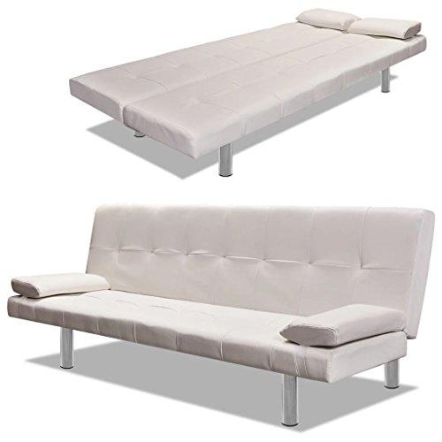 Amazon.com: Festnight - Sofá cama plegable de piel sintética ...