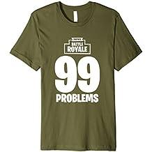 "Fortnite Battle Royale ""99 Problems"" T-Shirt"
