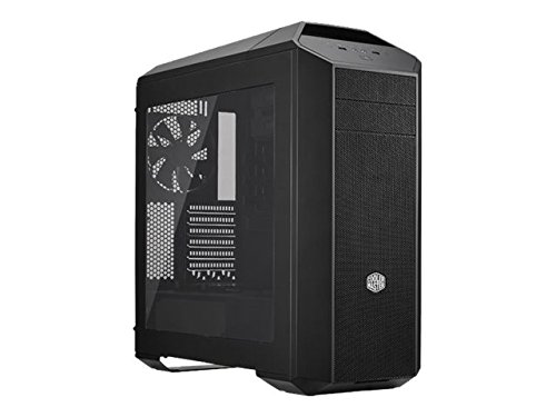 MasterCase Pro 5 Mid-Tower Case with FreeForm Modular System, Window Side Panel, Top Mesh Cover, and Watercooling Bracket (Cooler Master Window Side Panel)