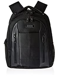 Kenneth Cole Reaction An Easy Pace Top Zip E Scan Computer Ipad Tablet Backpack, Black, One Size