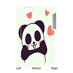 SOPHIA Phone Case Of pandas illustration cute girl For Iphone 4/4s