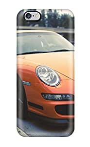Hot Design Premium KirTTQk518ESZHq Tpu Case Cover Iphone 6 Plus Protection Case(porsche Gt3 Rs)