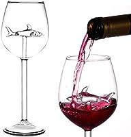 BSSN Copas de vino de tiburón
