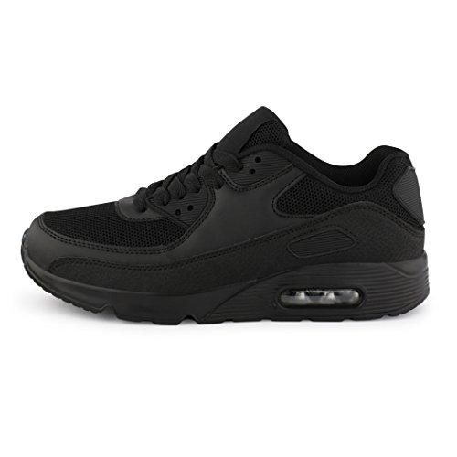 Unisex Runners Damen Sneaker Turnschuhe Laufschuhe boots seven best Black Fitness Neu HnxwT500