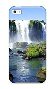 Excellent Design Iguazu Waterfalls Case Cover For Iphone 5c