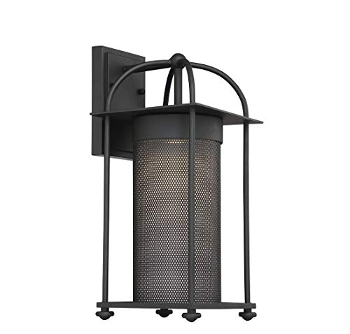 - Savoy House 5-231-BK One Light Sierra Wall Lantern in Black