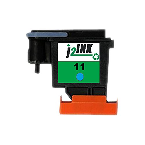 J2INK Refurbished 1 Cyan HP 11 C4811A Printhead Print Head Business Inkjet 2200 2250 2280 2600