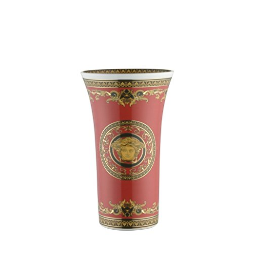Versace by Rosenthal Medusa Red 10 1/4-Inch - And Medusa Versace
