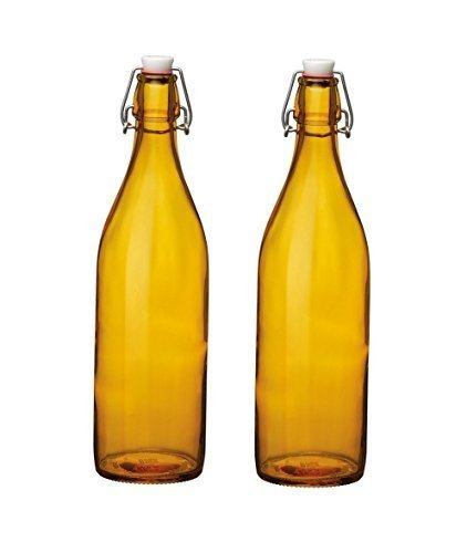 Bormioli Rocco - Juego de 2 Botellas de Vidrio tipo Giara ...