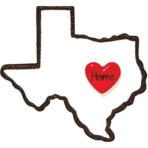hristmas Ornament - State Home Heart Houston Space Center NASA Austin LBJ Desert Dallas Antonio Holiday Travel Tourist Souvenir Away Love First Visit - Free Customization by Elves ()