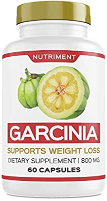 Premium Garcinia Cambogia 800mg HCA Fast Fat Burn Weight Loss Carb Blocker Metabolism Support 60 Capsules