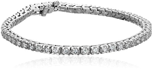 IGI-Certified-14k-White-Gold-4-Prong-Diamond-Tennis-Bracelet-4cttw-H-I-Color-I1-Clarity-7