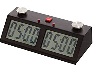 Professional Tournament Chess Game Clock Black