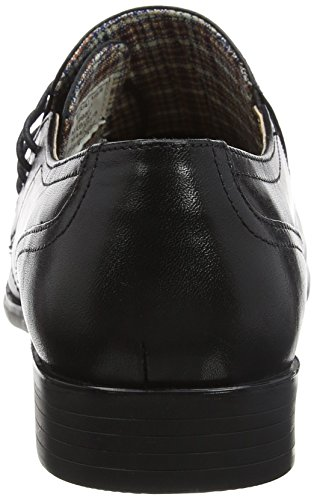 Scarpe Nero Black Stringate Tape Marbury Red Oxford 0 Uomo Yq6EcE