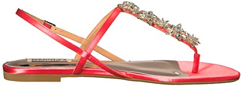 Badgley Mischka Mujeres Tate Vestido Sandal Strawberry