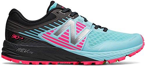 New Balance Women's 910V4 Running Shoe, Sea Spray/Alpha Pink, 9 B US