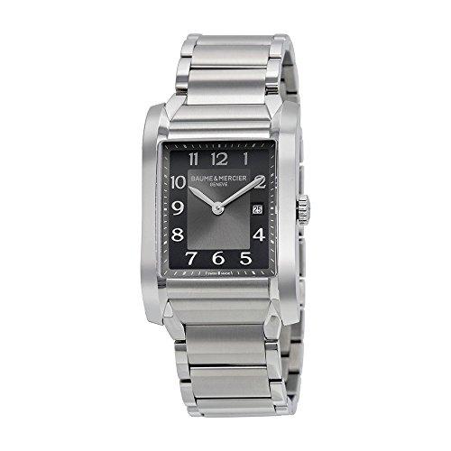 baume-and-mercier-black-dial-stainless-steel-ladies-watch-10021