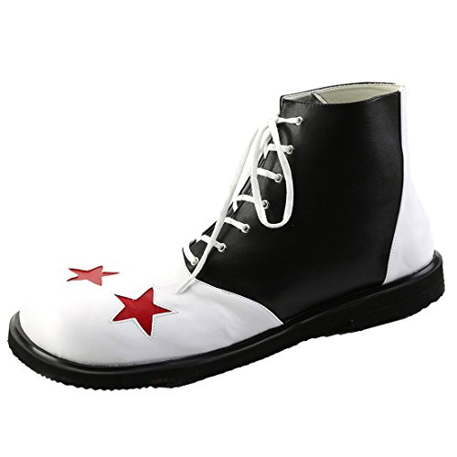 Silly Black and White MENS SIZING Clown Shoe with Large R...