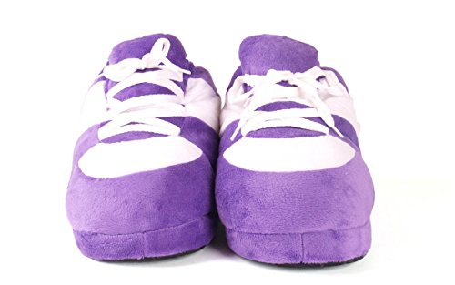 Sneaker Feet and Womens Slippers Happy White Purple And Standard Mens wXTpdqqxPB
