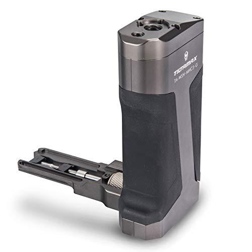 Tilta Black Side Handle for Tilta BMPCC Camera Cage TA-WSH-MHC3-G Materials Black, Aluminum-Alloy, Stainless Steel by Tilta