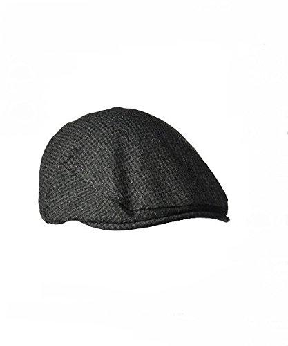 Classic ENGLISH DRIVER Herringbone Wool Ivy Cap Hat Scaly