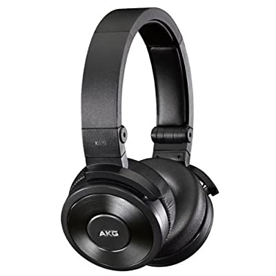 AKG K619 Premium DJ Headphones with In-Line Remote and Microphone